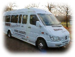 Rowan Mini Coach Hire